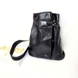 Nino BOSSI Leather Bag Backpack